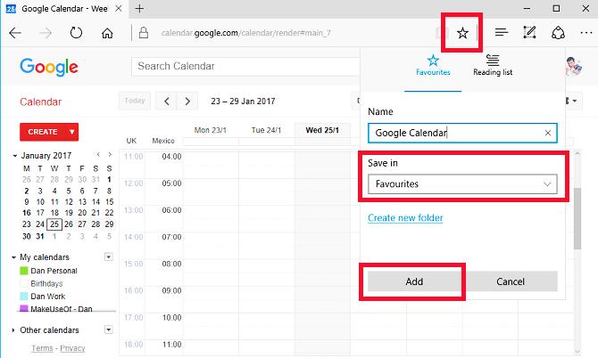 Google calendar app for windows 10 4