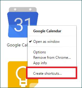 Google calendar app for windows 10 7