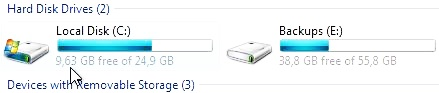 compress this drive to save disk space 10
