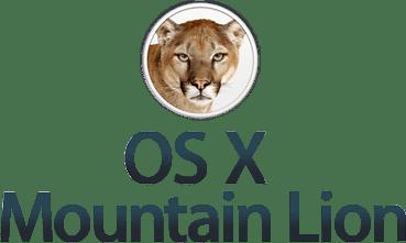 OS X Mountain Lion Logo