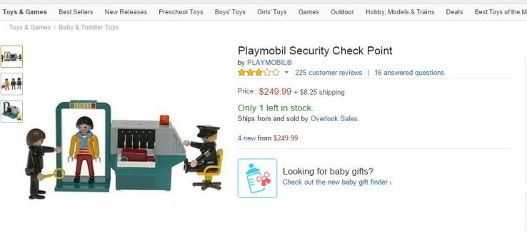 Amazon - Playmobil Security Checkpoint