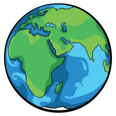 Image result for planet earth cartoon