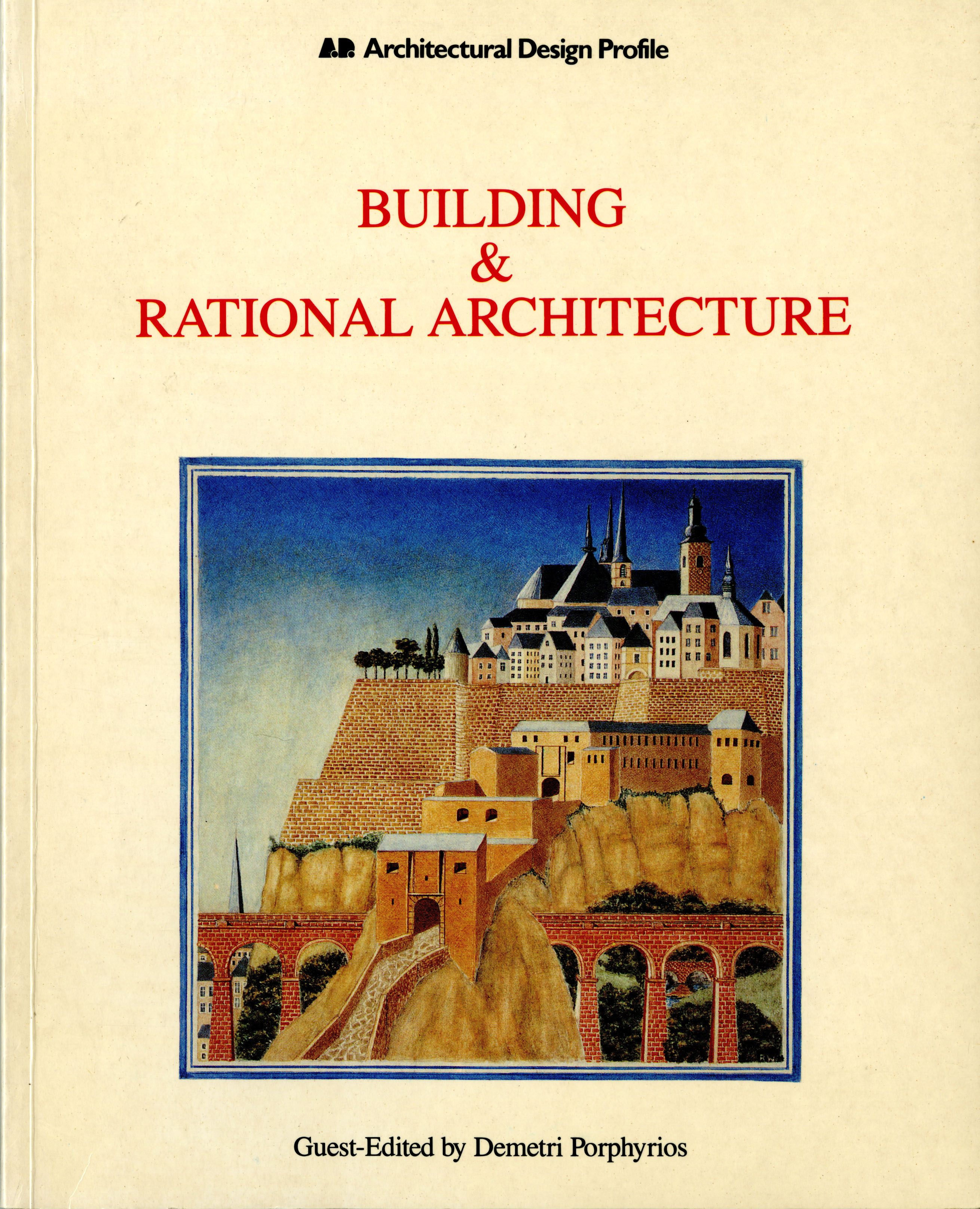 """""""Building and Rational Architecture"""" Book Cover"""