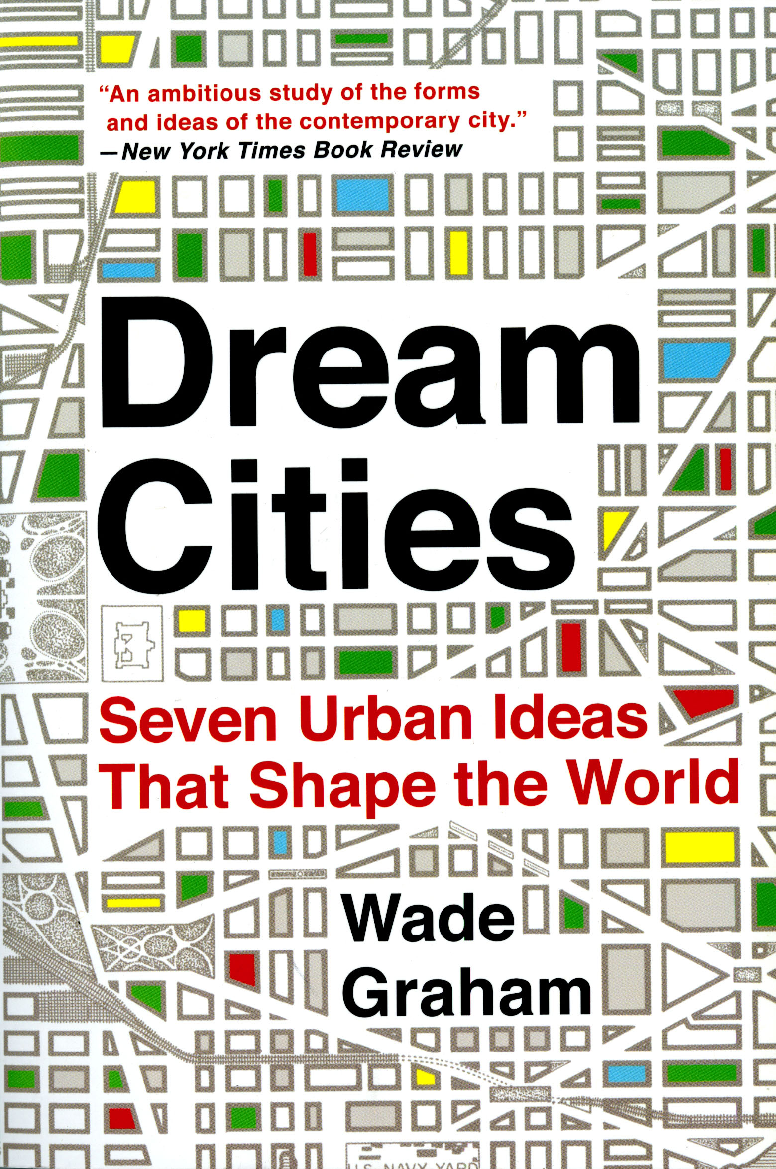"""Dream Cities"" Book Cover"