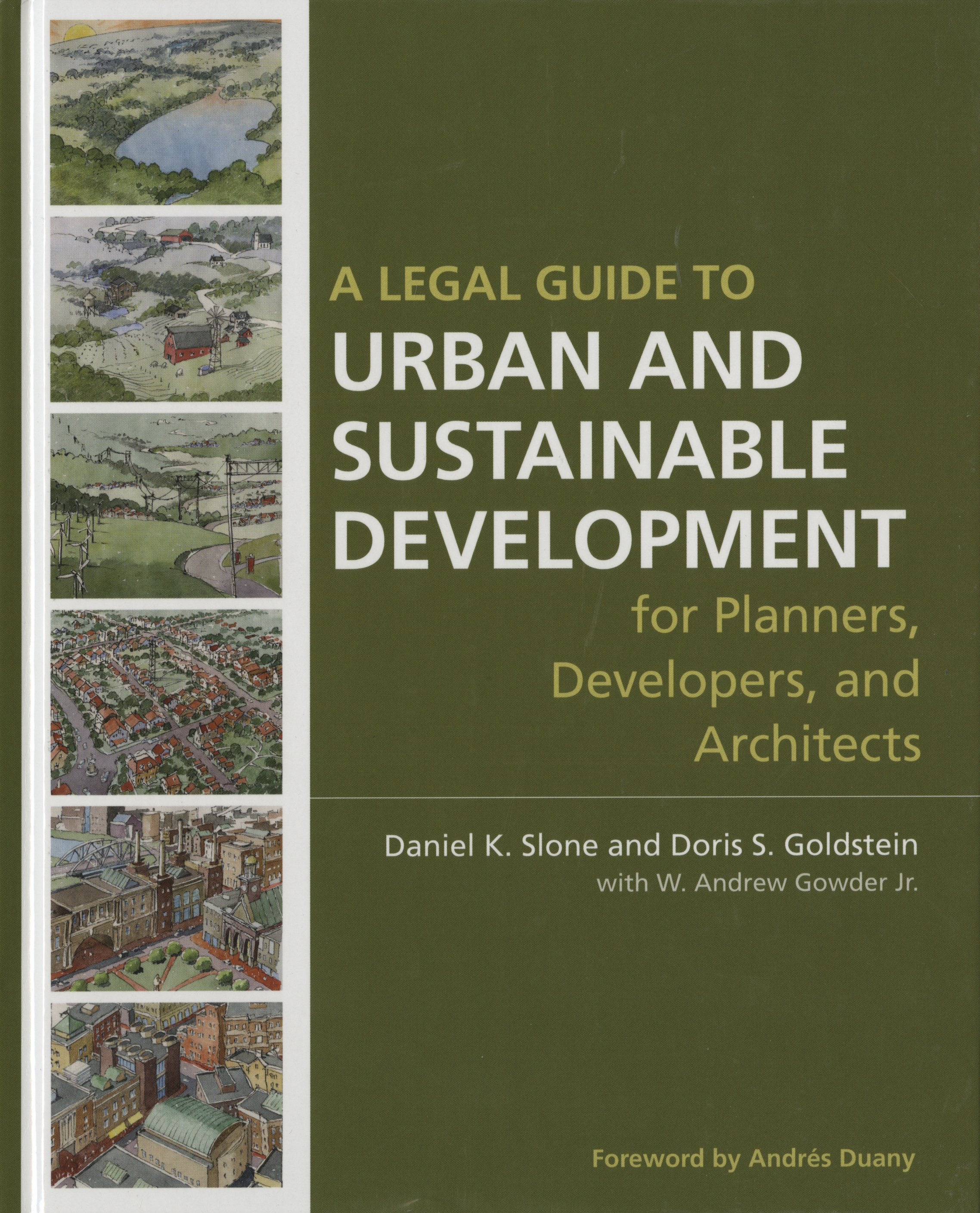 """A Legal Guide to Urban and Sustainable Development"" Book Cover"