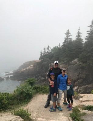 Ocean Path Acadia Family