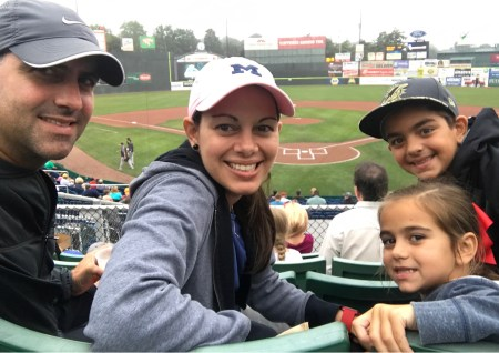 Portland baseball game