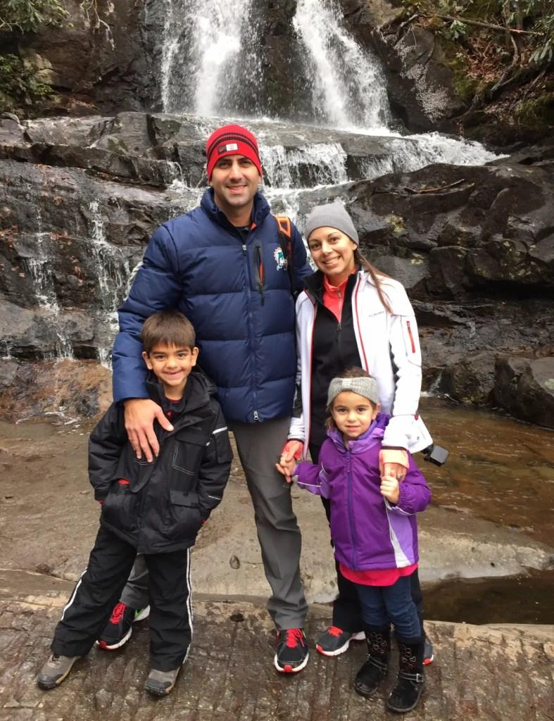 Laurel Falls family