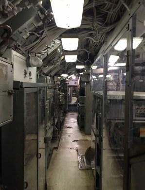 Inside the USS clagmore