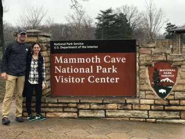 Mammoth Cave Sign