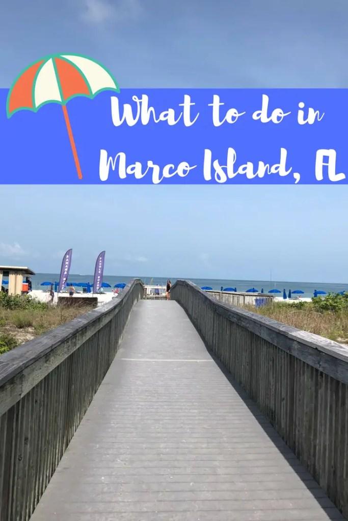 marco island beach pin