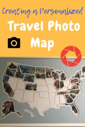 Personalized Travel Map Cover