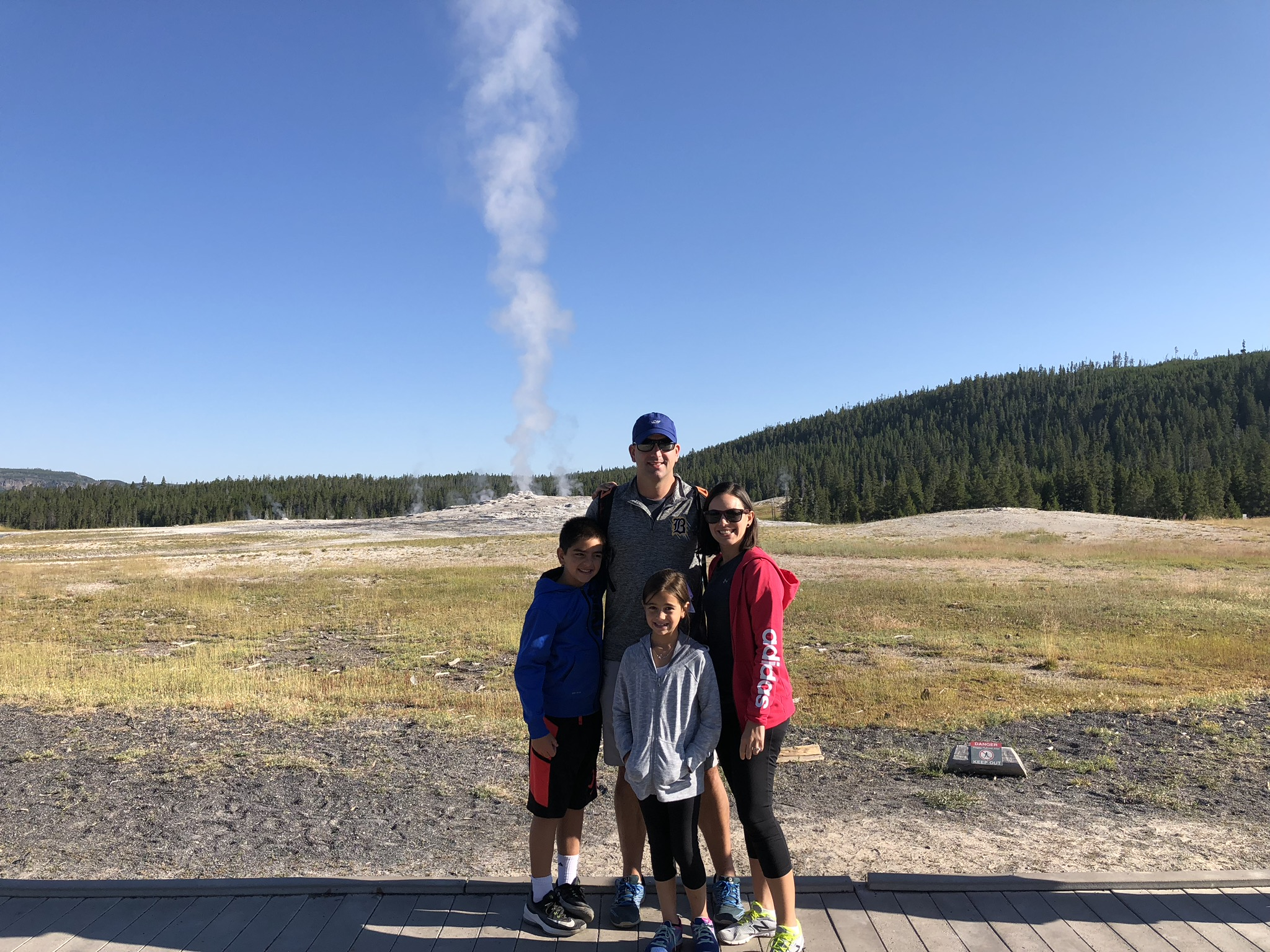 Old Faithful Family