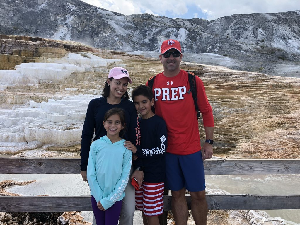 Mammoth Hot Springs Fam