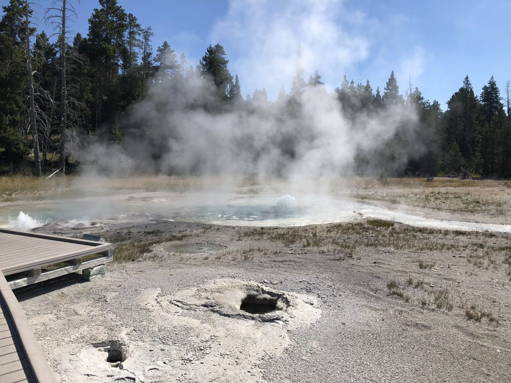 Upper geyser Basin 1