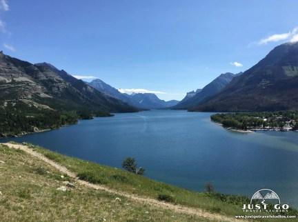 Upper Waterton Lake Canadian Rockies Vacation