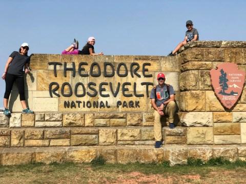 Theodore Roosevelt NP North dakota national parks