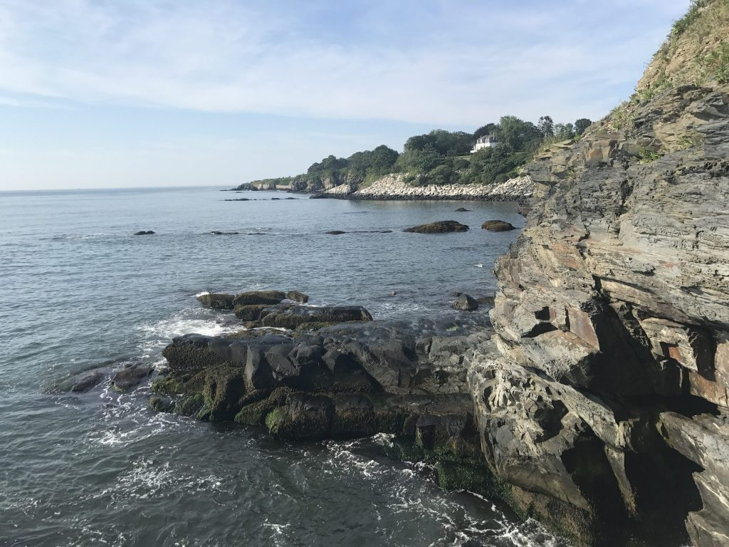 best hikes on the East Coast Cliff Walk