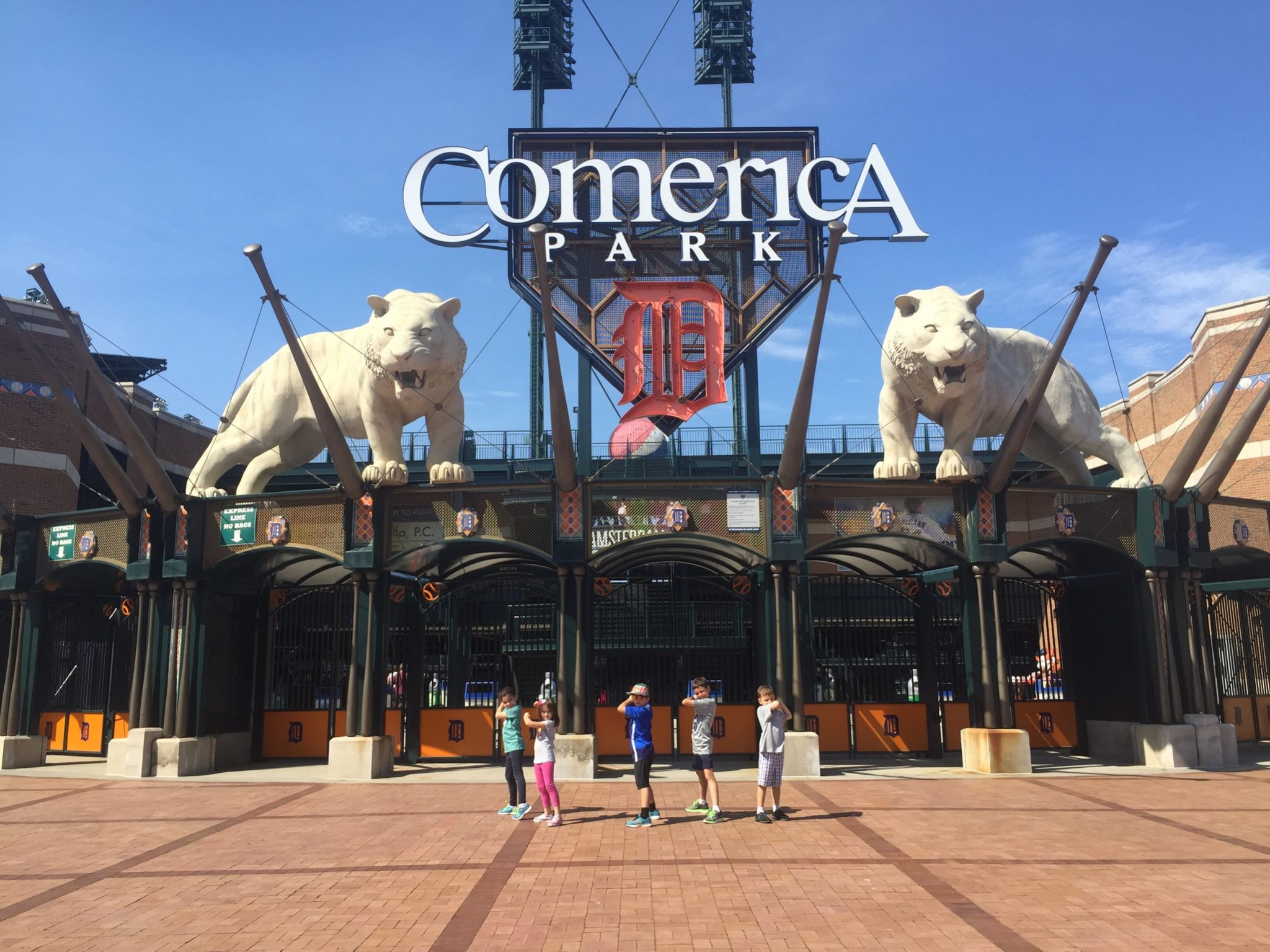 michigan with kids Comerica