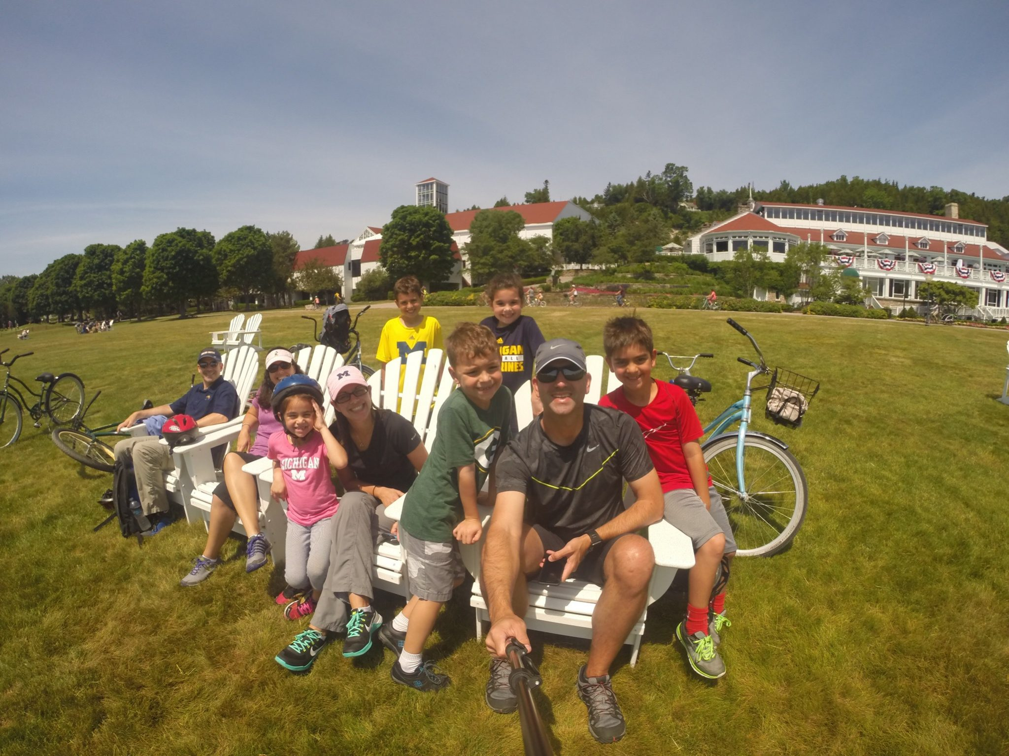 Michigan with kids Mackinac go pro