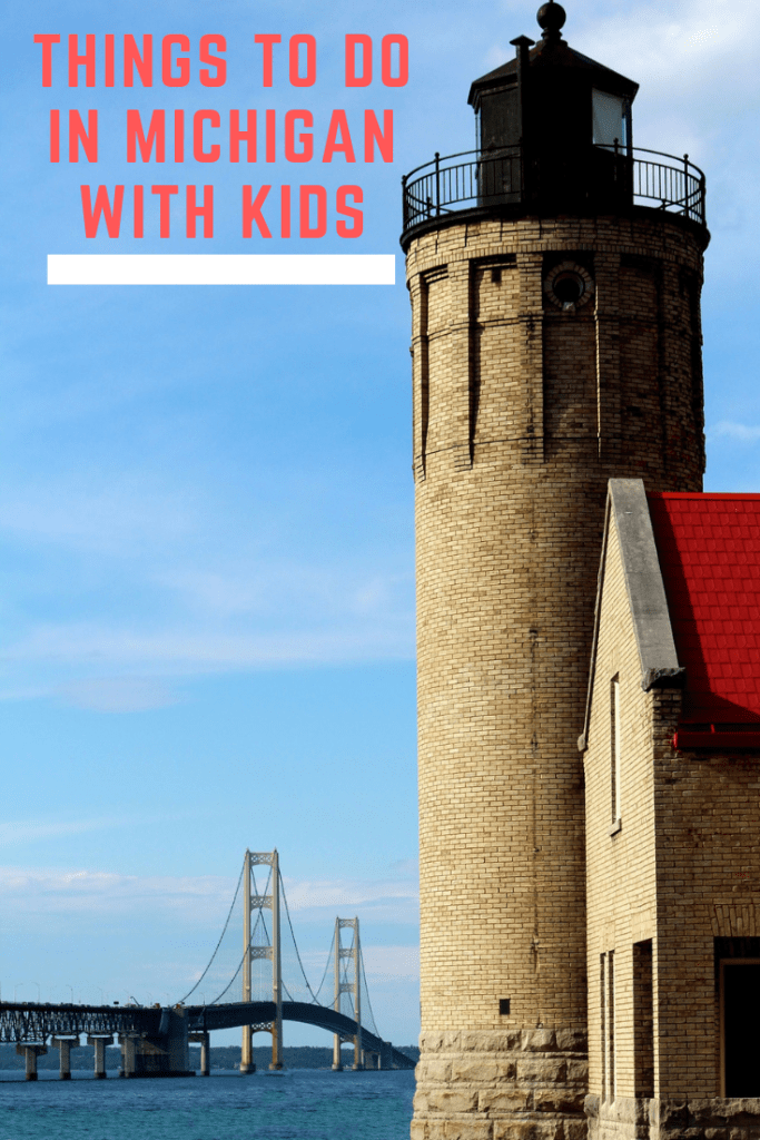 Things to do with kids in Michigan Pin
