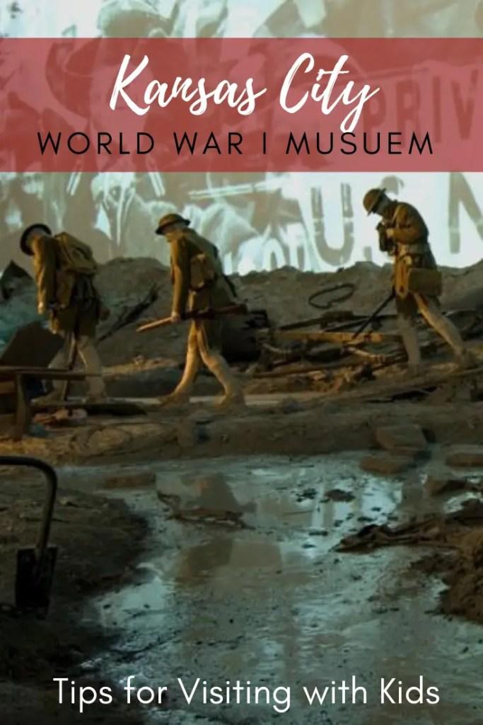 Kansas City World War 1 Museum Pin