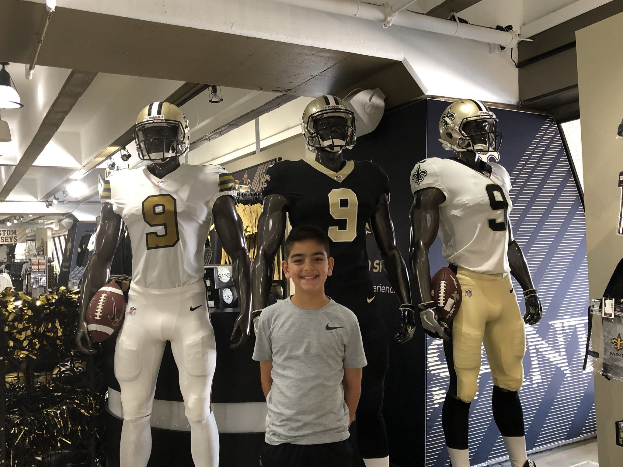 What to do in New Orleans with kids Saints B