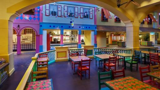Disney Moderate Resorts dining