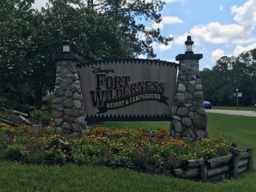 fort wilderness sign disney moderate hotels