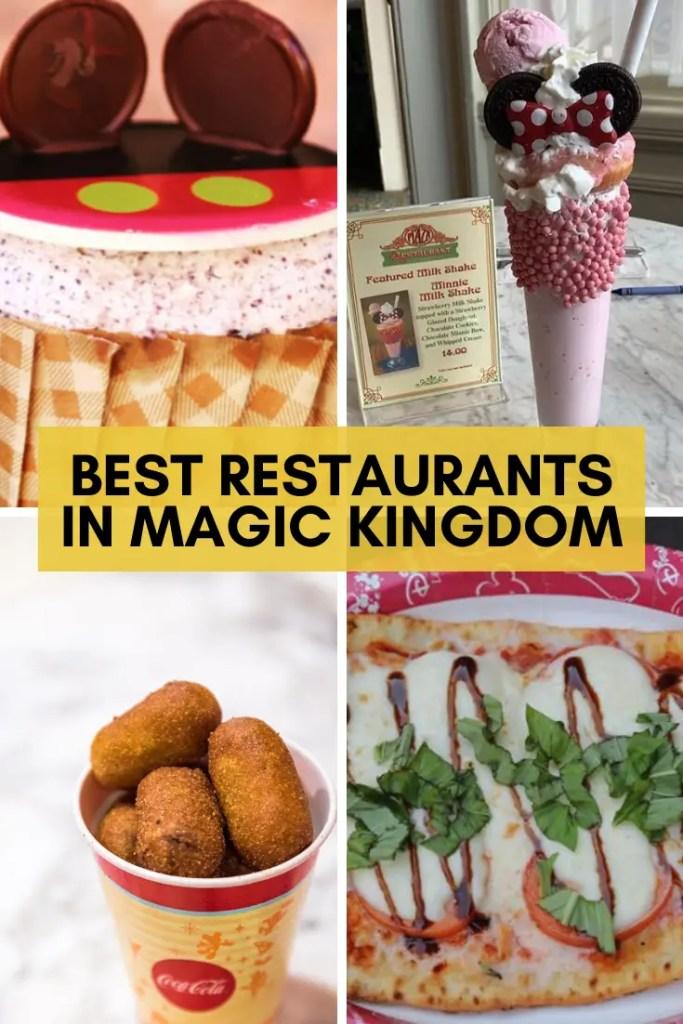 Magic kingdom restaurants