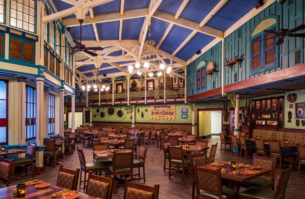 Best places to eat in Magic kingdom Skipper Canteen inside