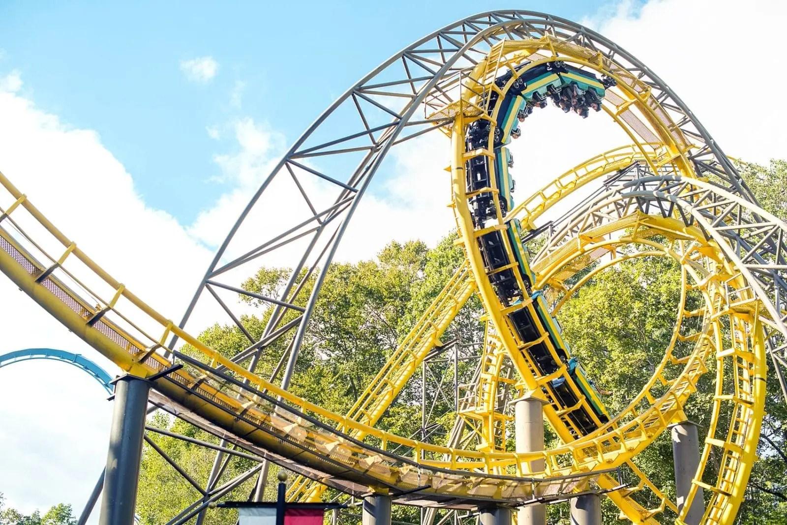 Busch Gardens Williamsburg 2019 Theme Park Map Roller Coaster Amusement