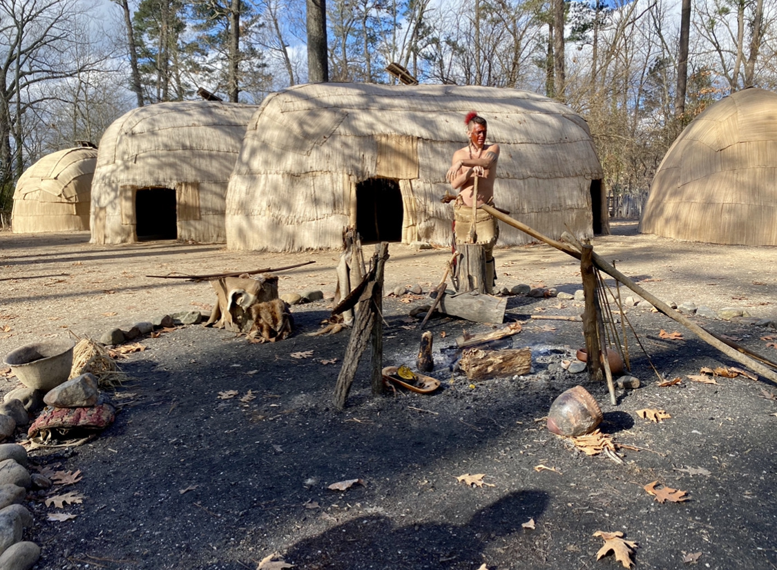 Jamestown Settlement Powhatan