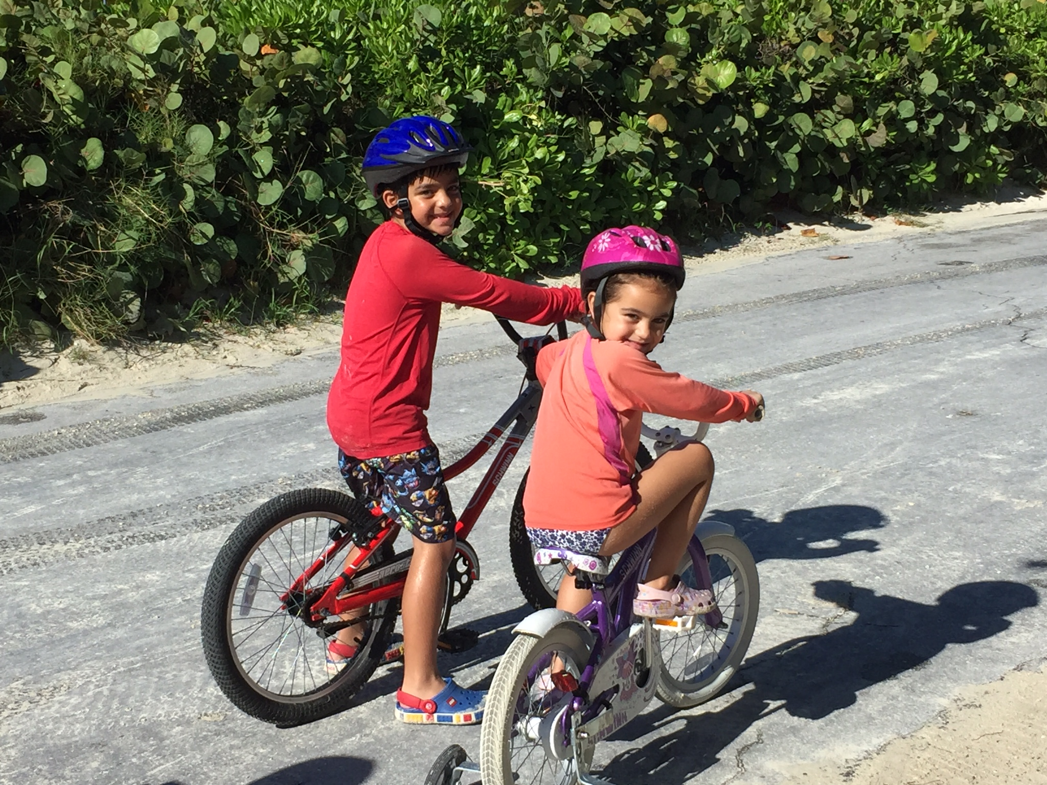 Things to do on Castaway Cay biking