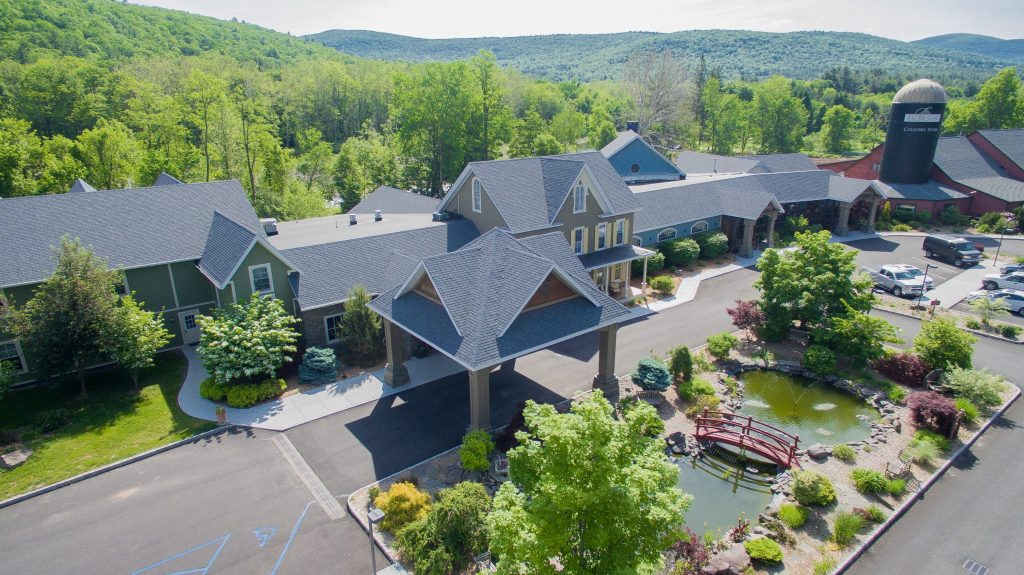 Emerson Resort and Spa aerial