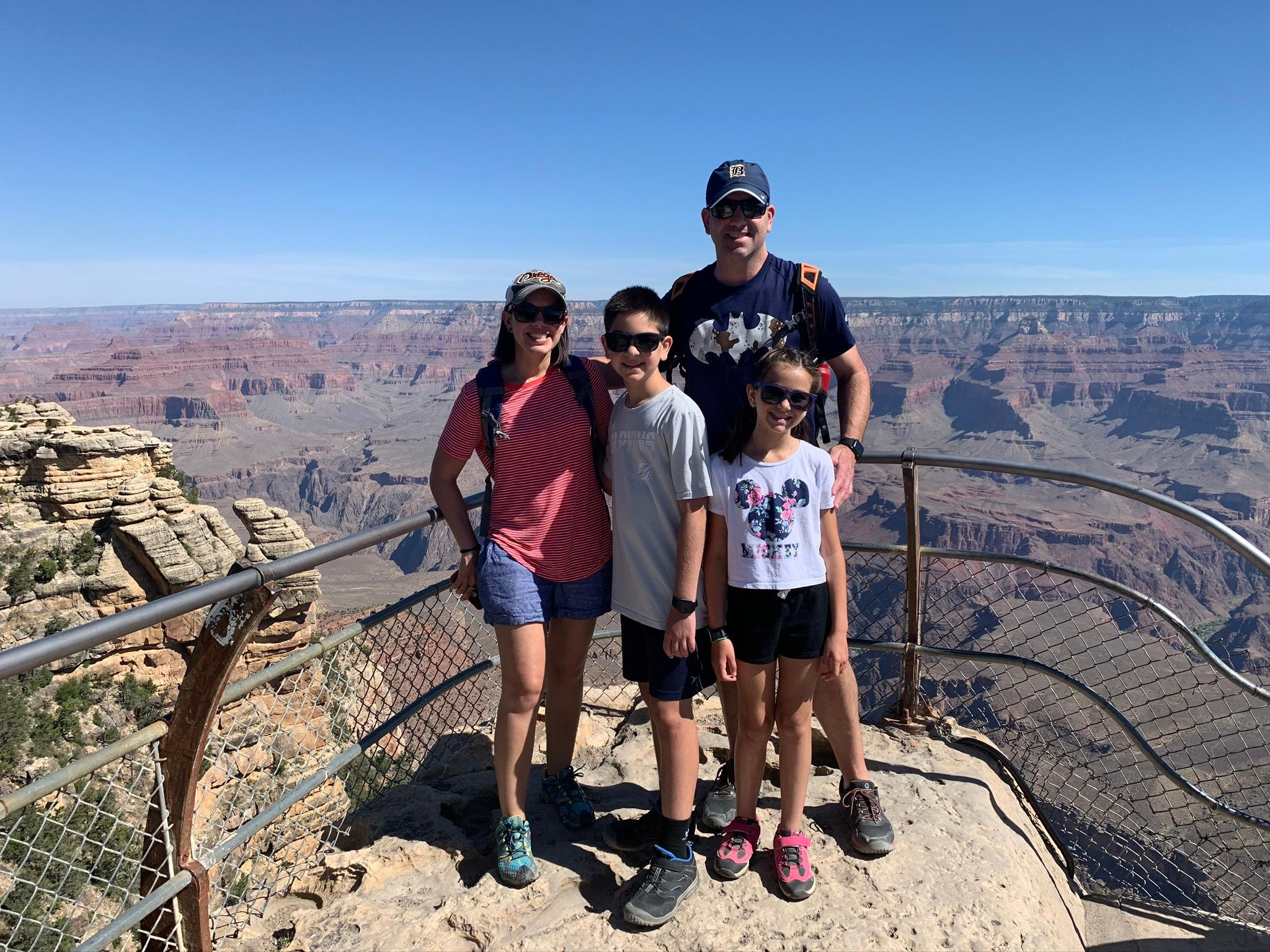 Grand canyon family