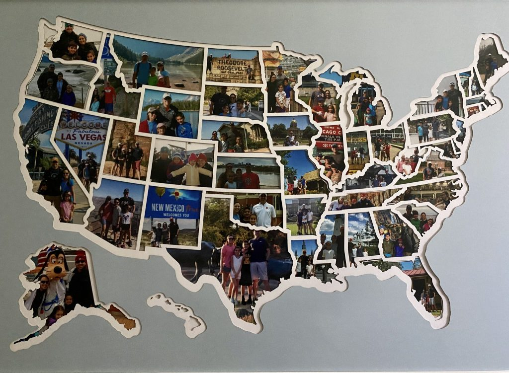 USA Photo Map 49/50