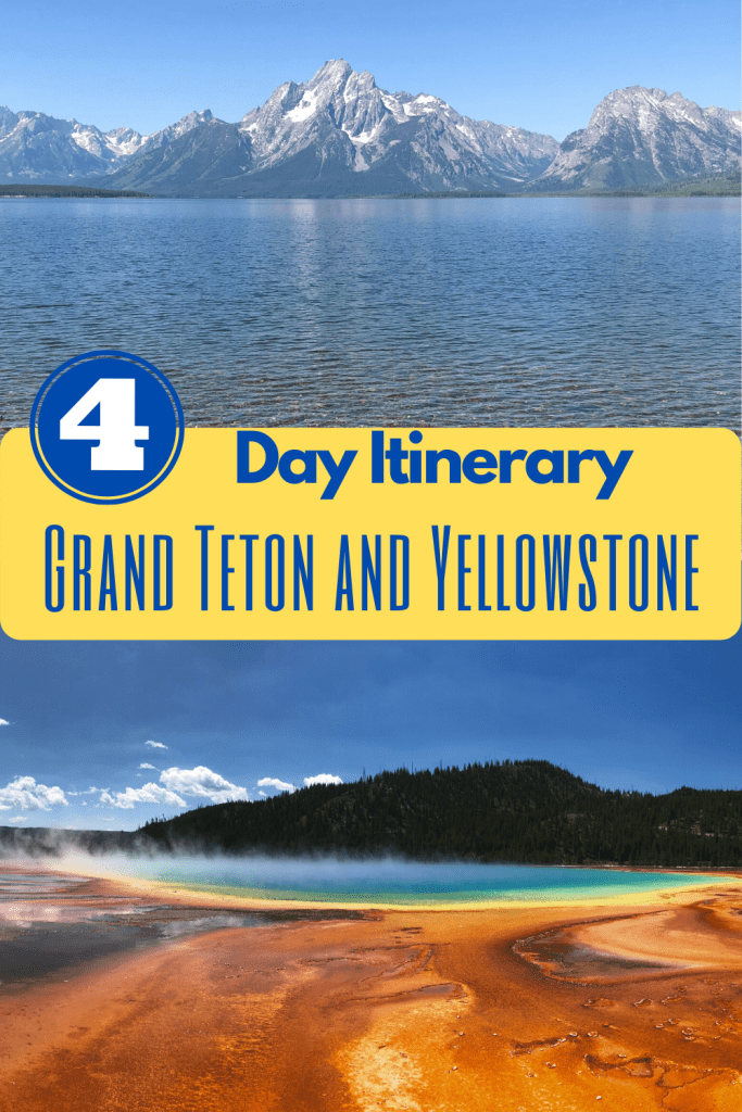 Grand teton to yellowstone pin