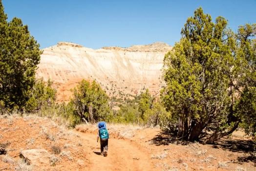 Easy hikes in Utah 1