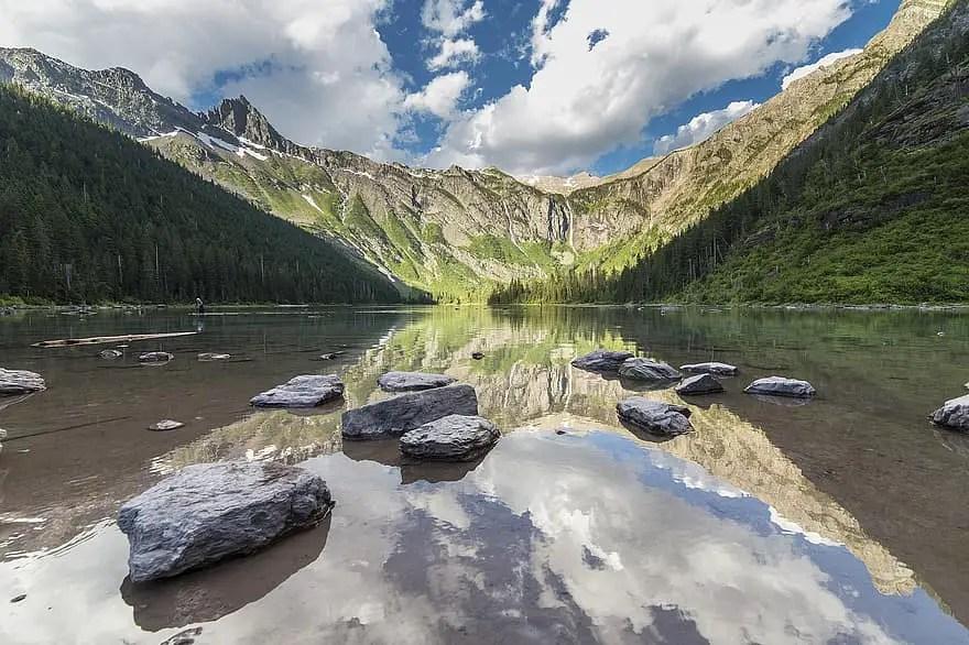 Main Avalanche Lake