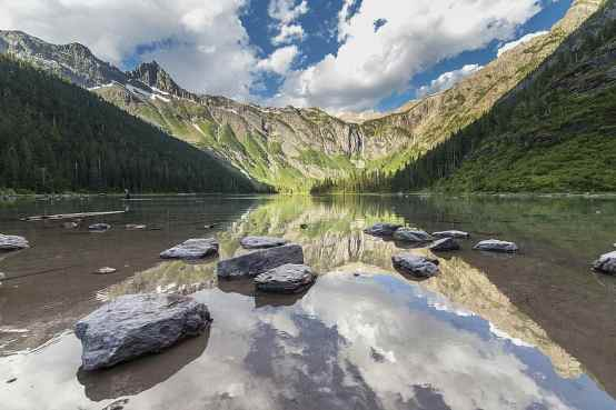 Main Avalanche Lake