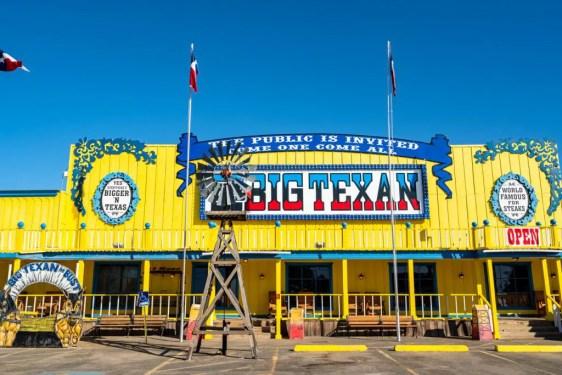 route 66 restaurants Big Texan