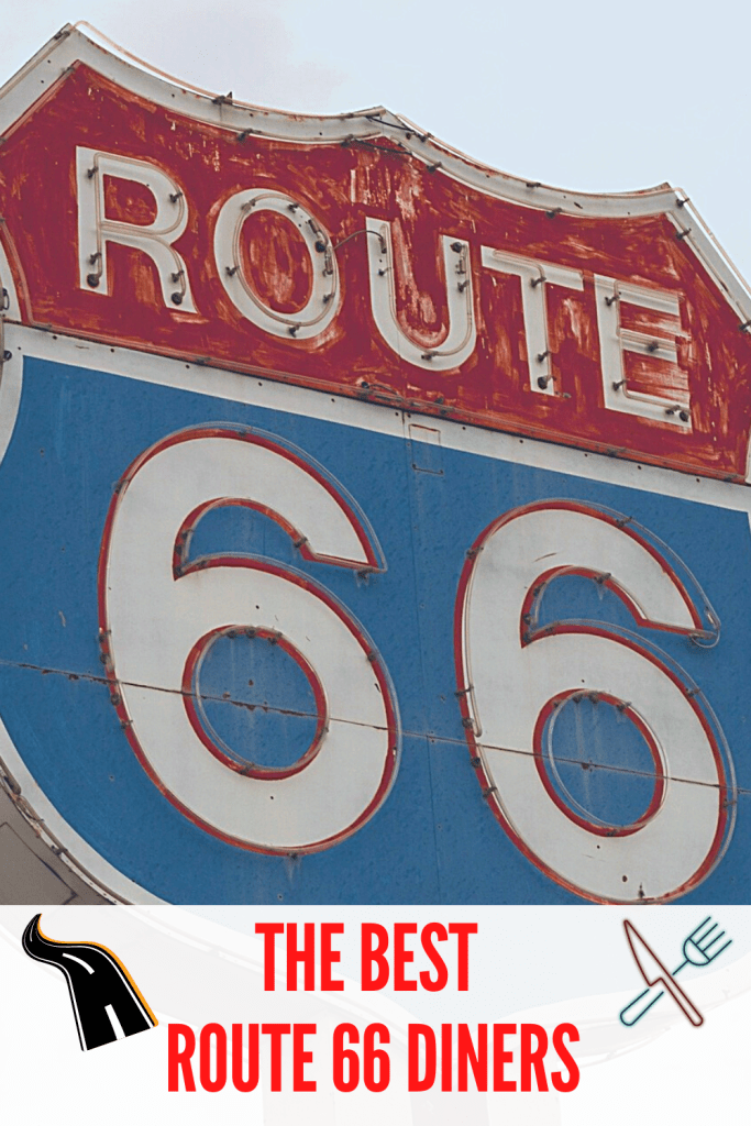 Route 66 restaurants pin 1