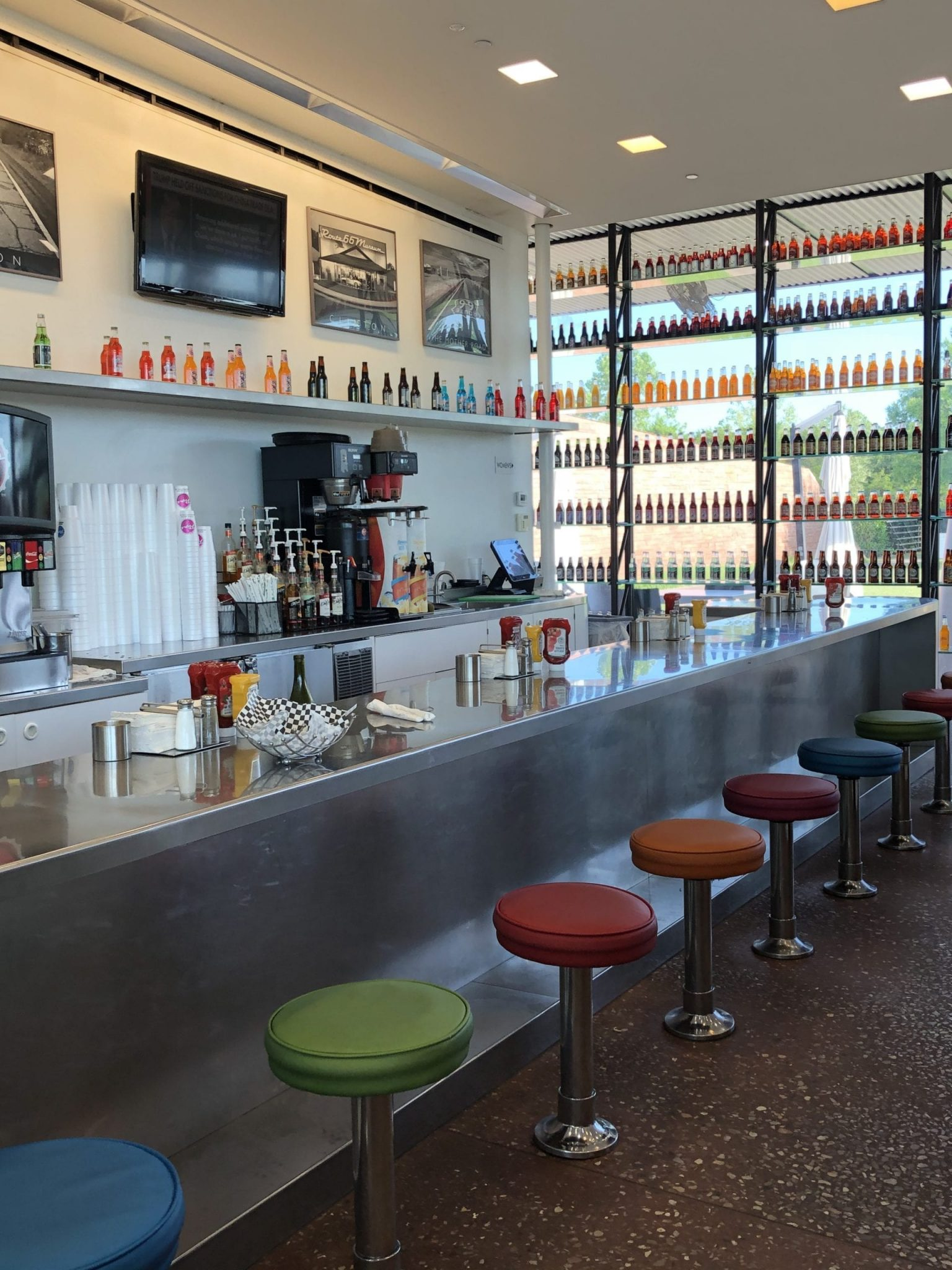 Route 66 diners Pops