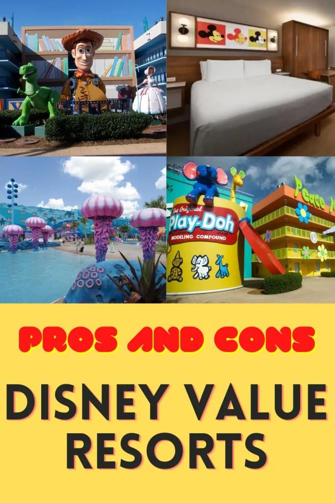 disney value resorts pin
