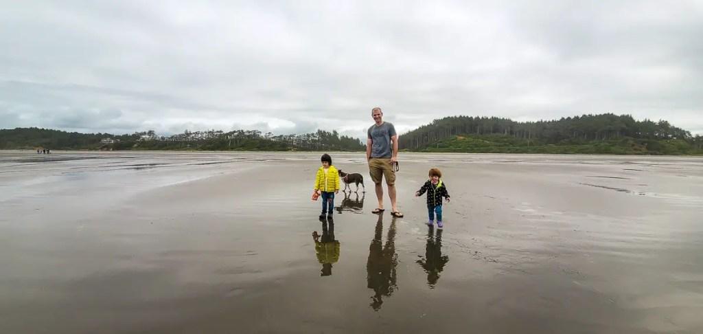 Best us family beaches Seabrook WA