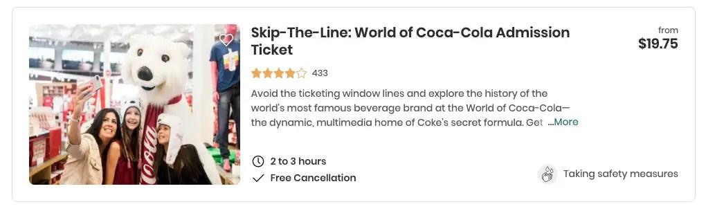 atlanta coca cola