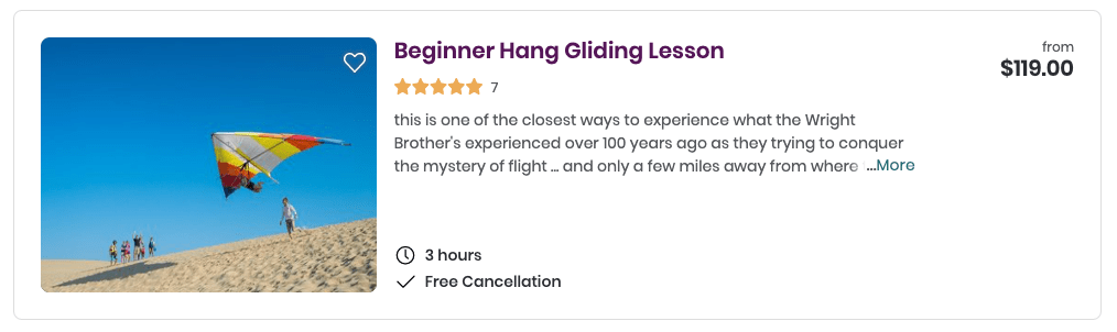 things to do in outer banks hang gliding