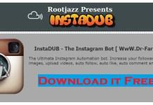 Instadub Pro Instagram Bot - Social Media Marketing Tool