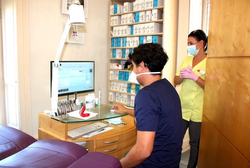 Salle de consultation 1 - Dr Tran - Assistante Christelle